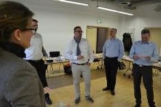 Teilnehmer des Experten-Workshops Cloud am 9. März im IT-Zentrum Lingen